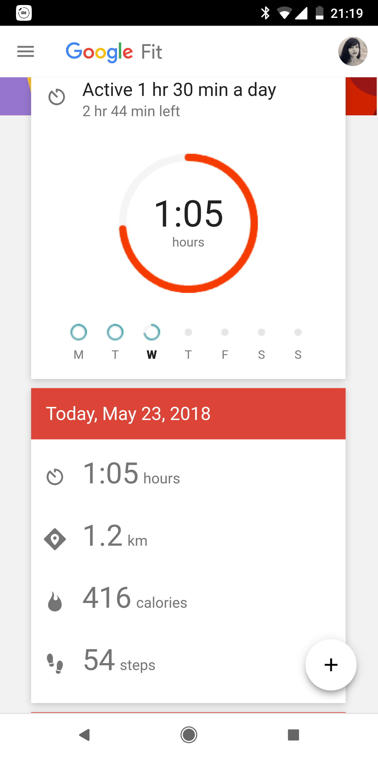 The steps being tracked in the Google Fit app do not reflect