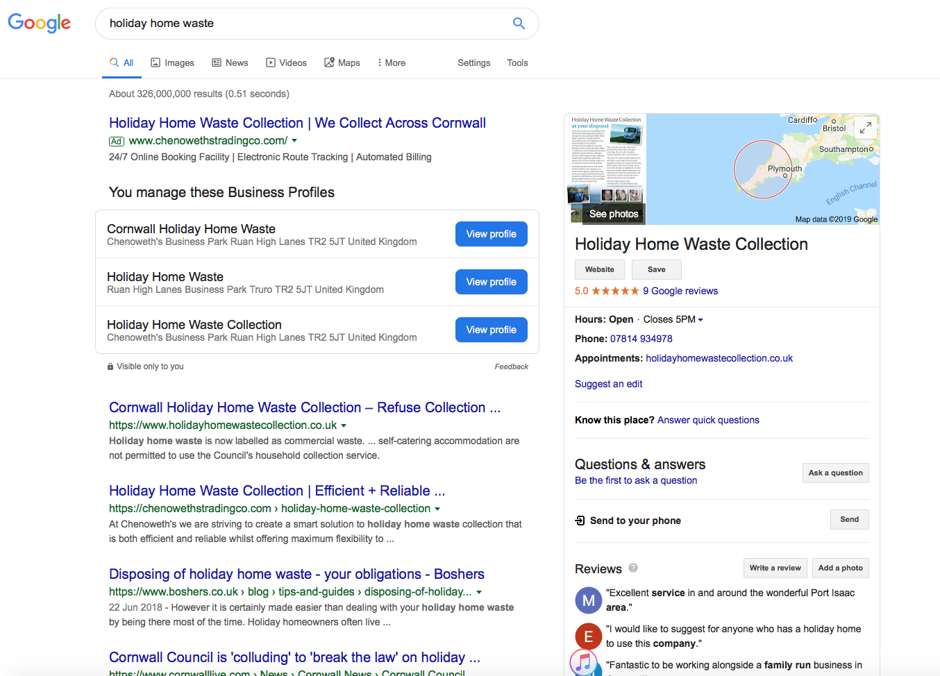 Map Listing - Google My Business Help