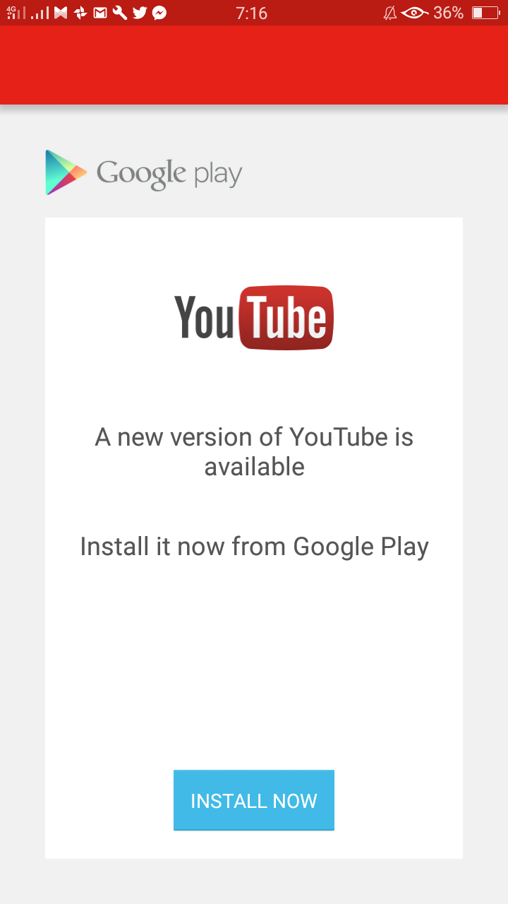 Why can't I open and update the youtube app? - YouTube Help