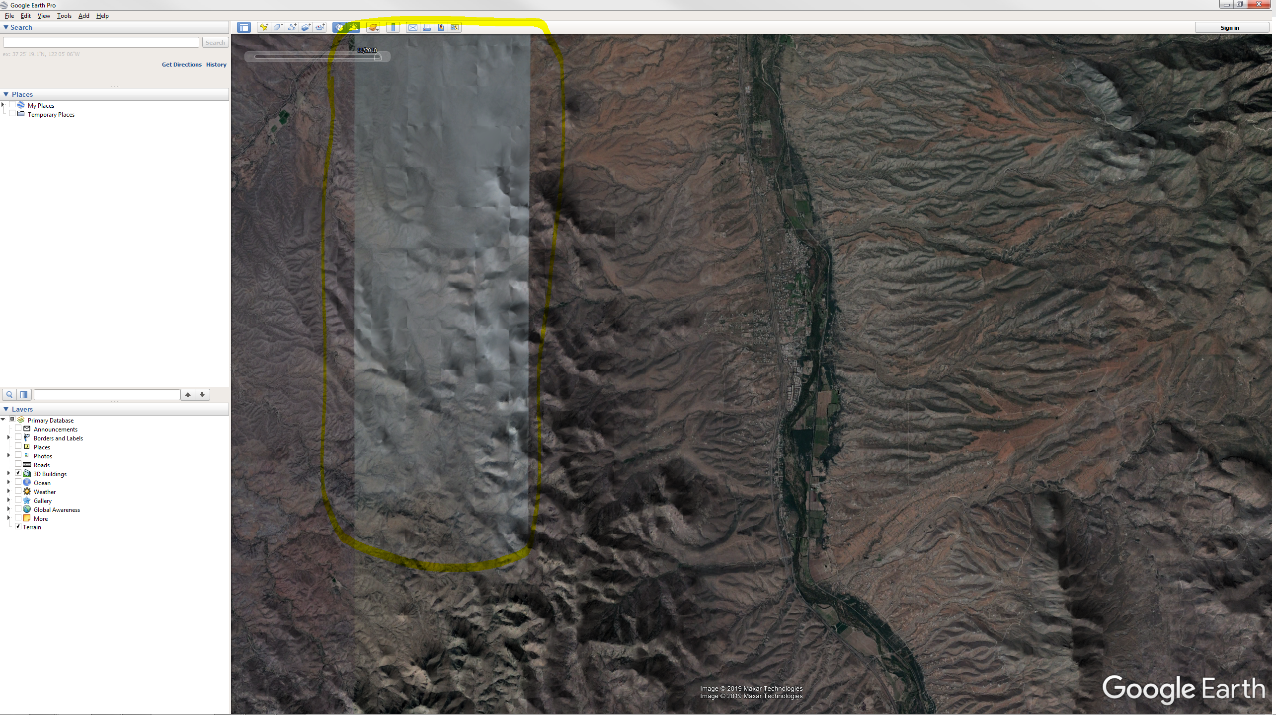 How To View Sunlight Feature S Shadows On Terrain Without