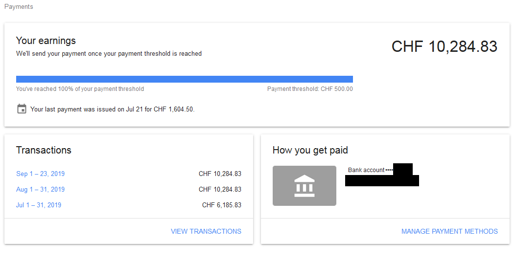 How To Transfer Adsense Money To Another Adsense Account