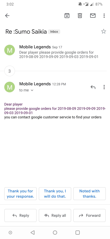 Need Google Receipt Gmail Help