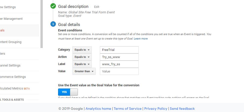 Goals are not tracking in analytics - Analytics Community