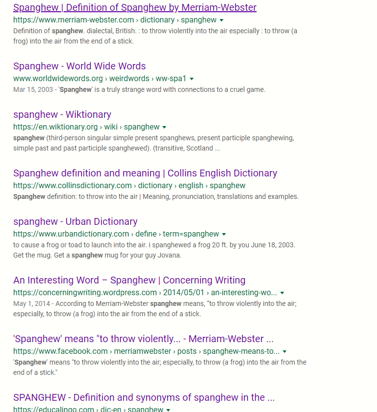 All Of My Search Results Appear As Visited Links Even Unvisited Sites Or Search Keywords Google Search Community