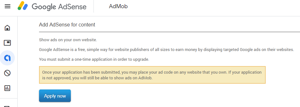 Stuck To Use Admob In Adsense You Already Have An Adsense Account Associated With R Com Adsense Community