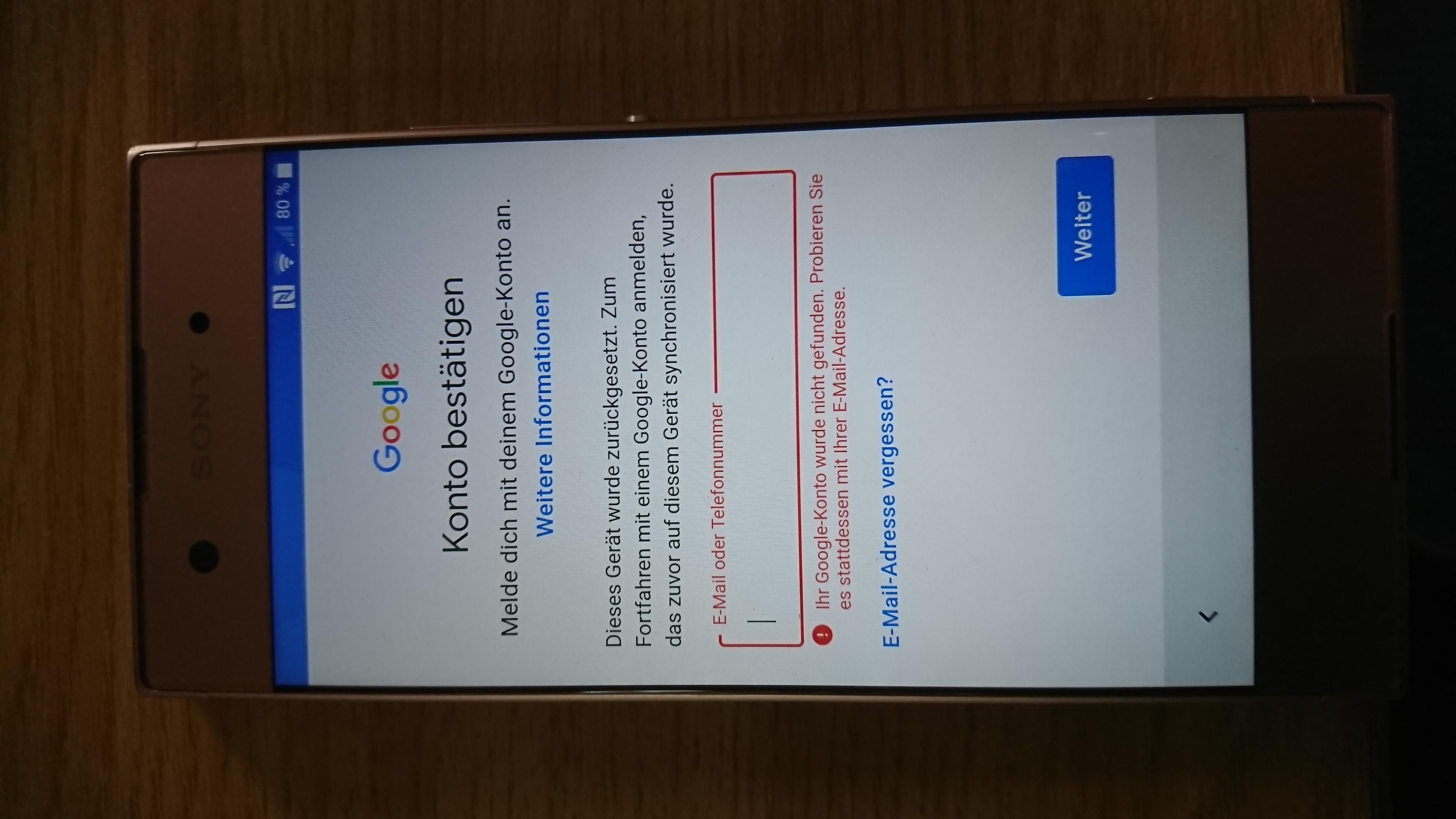 Google mail konto vergessen handy gesperrt