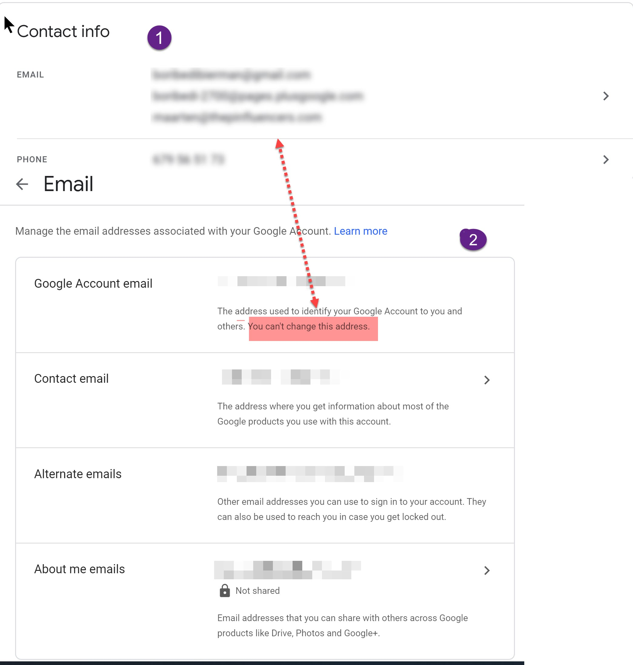 Hi, I would like to change my mail addresses and phone number on my Google  Business Page. - Google My Business Community