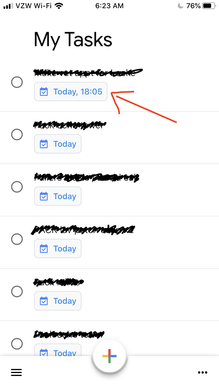 All The Tasks how do i switch my tasks app from 24-hour time to 12-hour