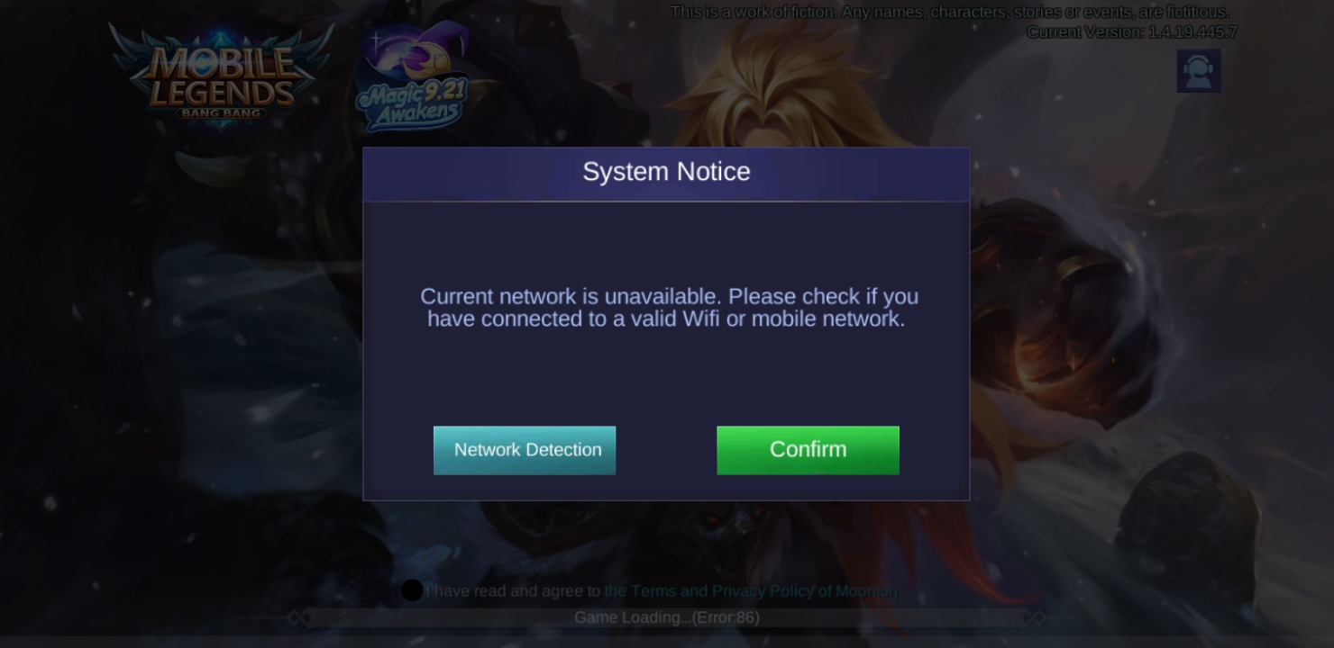 Why Cant I Play Mobile Legends On My Galaxy 9 After The Latest Update Google Play Community