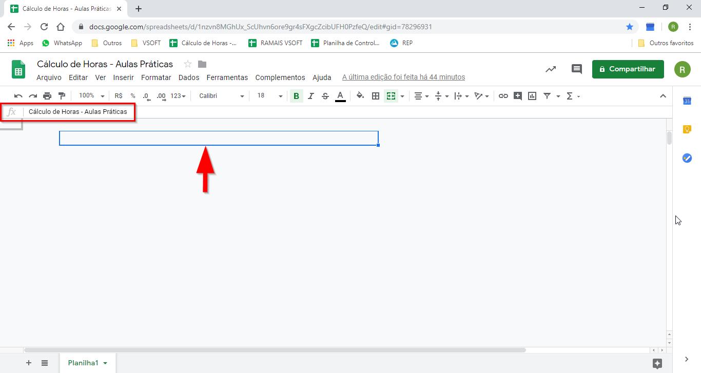 Não consigo visualizar minha planilhas do google no Chrome. As ...