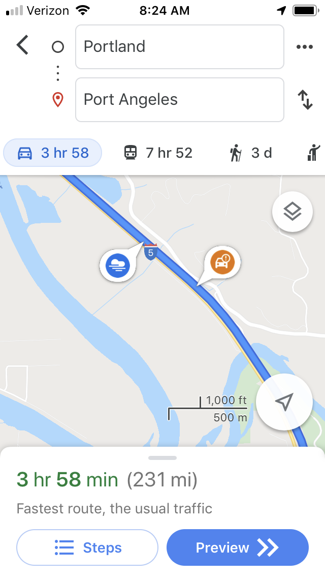 What are the little icons showing in the app along my route ... Does It Cost To Use Google Maps on