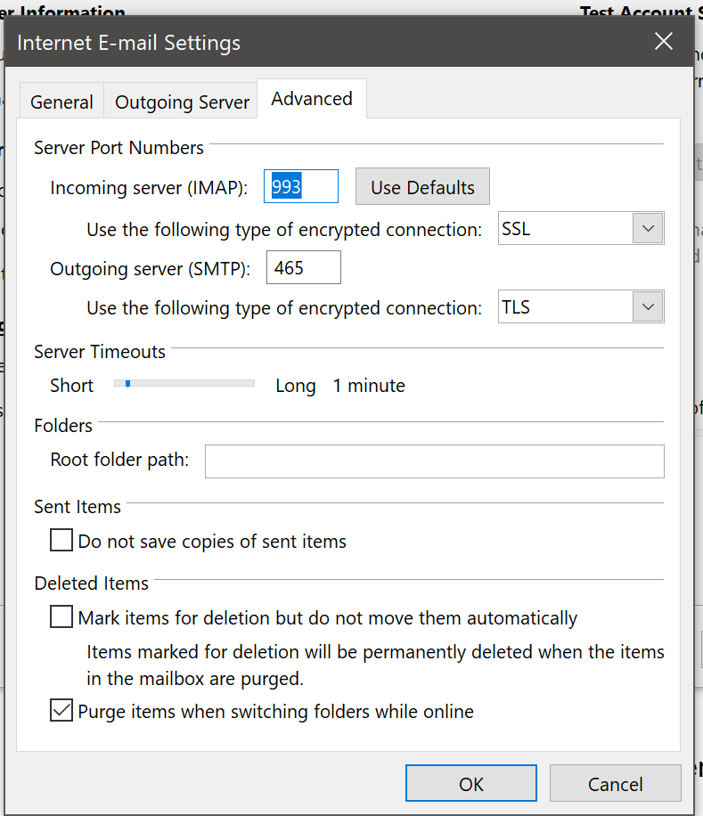 Add organizational gmail to Outlook 2016 - Password popup