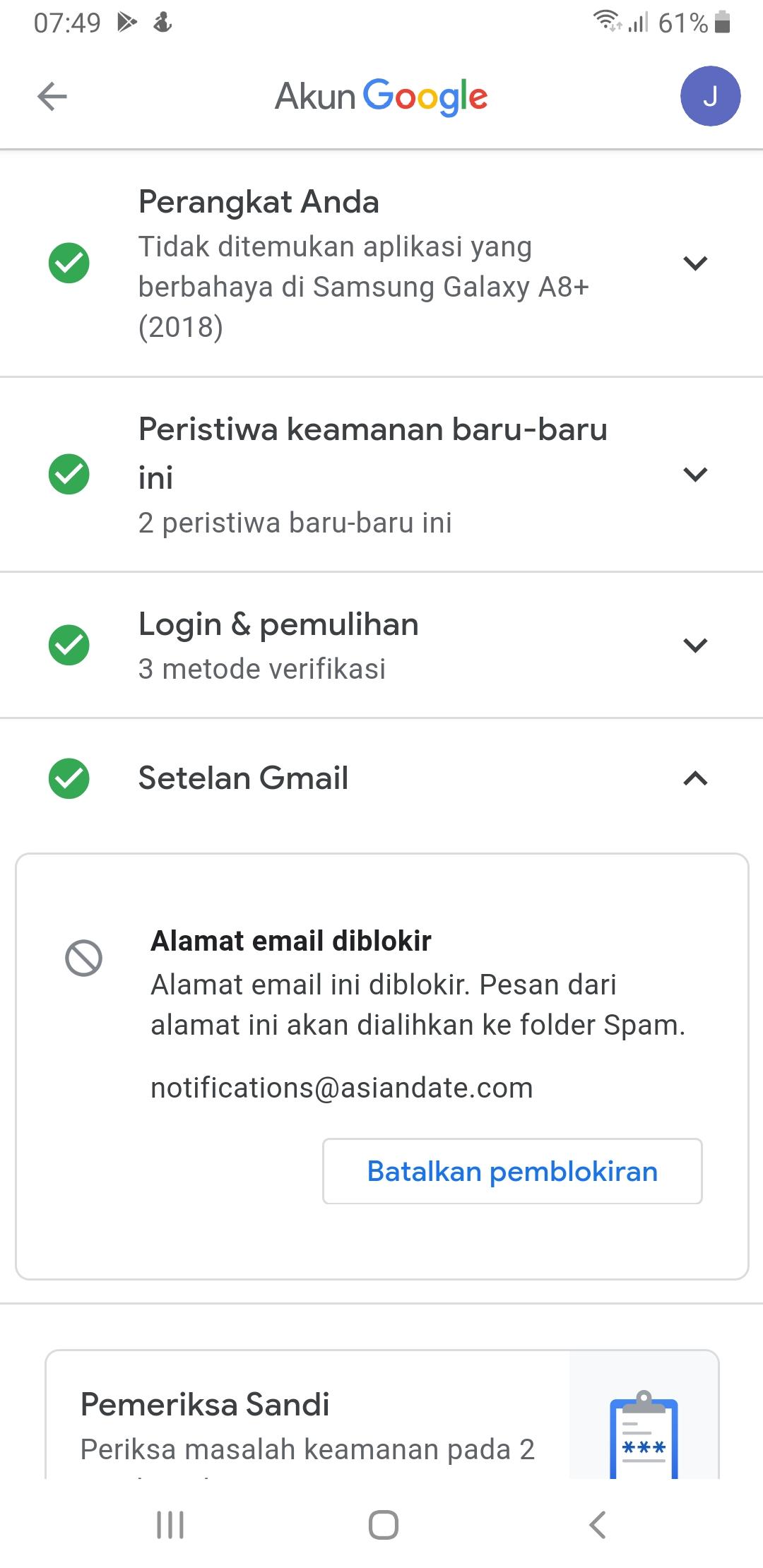 Bagaimana Cara Menghapus Secara Permanen Notifikasi Dari Situs Yang Tidak Diinginkan Komunitas Akun Google