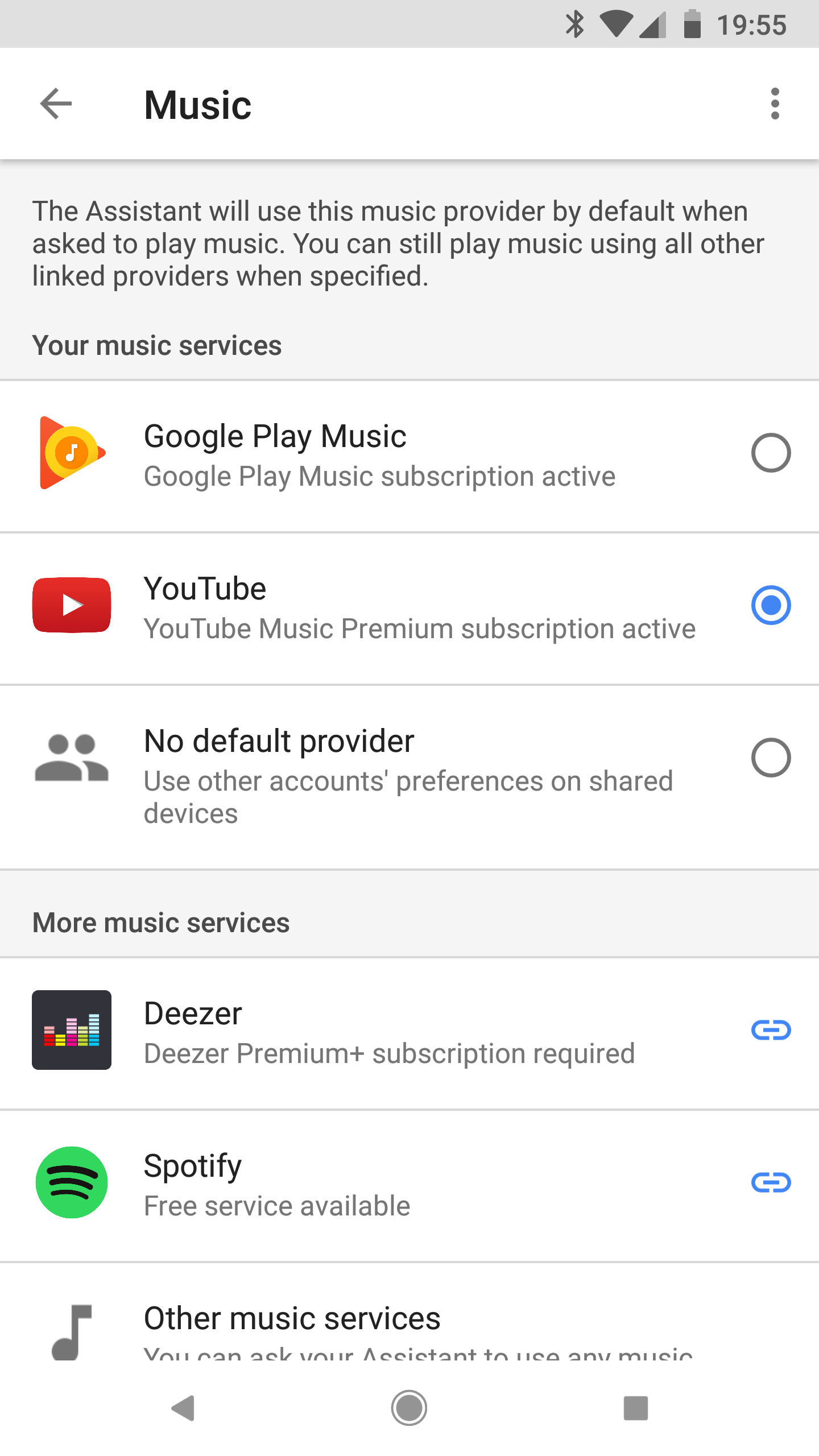 Google Home can't play YouTube Premium (