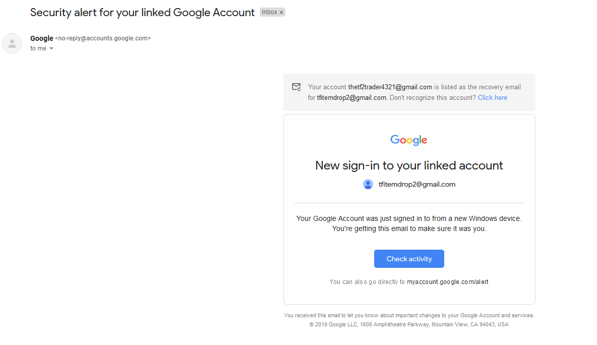 My Old Gmail Was Hacked Google Account Community
