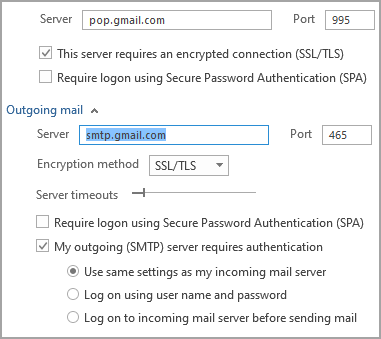 Outlook 365 - Gmail-POP3 - (0x800CCC1A) : 'Your server does not support the  connection encryption... - Gmail Community