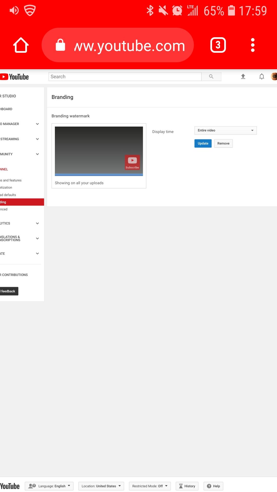 Why my watermark won\u0027t show? - YouTube Help