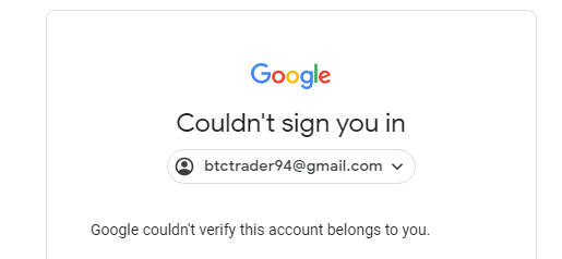 Sign in account youtube Cannot Sign