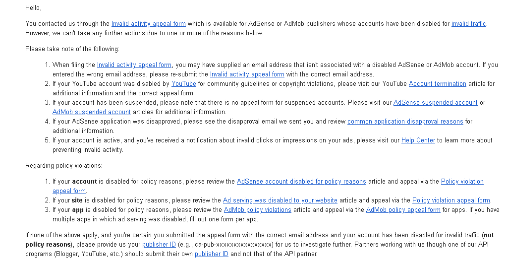 A Request From Indian Developer - AdSense Help