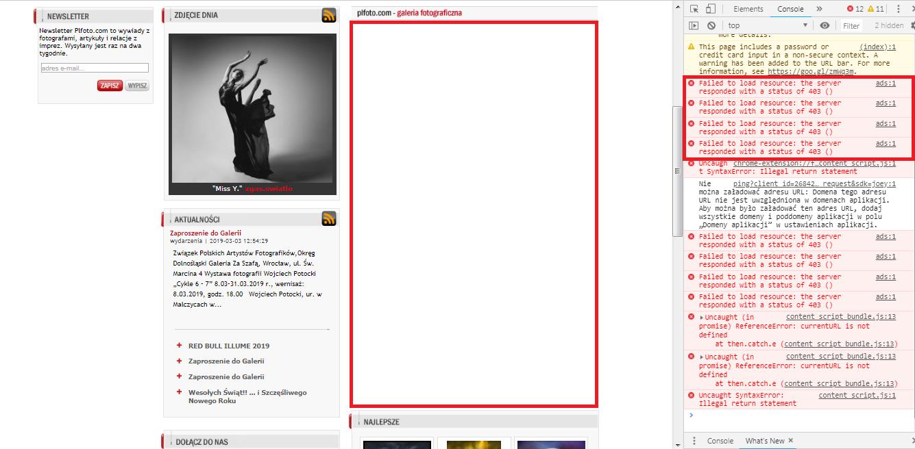 8e2830d8e 403 error, no backup ads. - Google Ad Manager Help