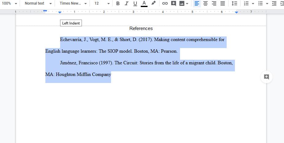Google Doc Paper Will Not Follow My Set Margins Docs