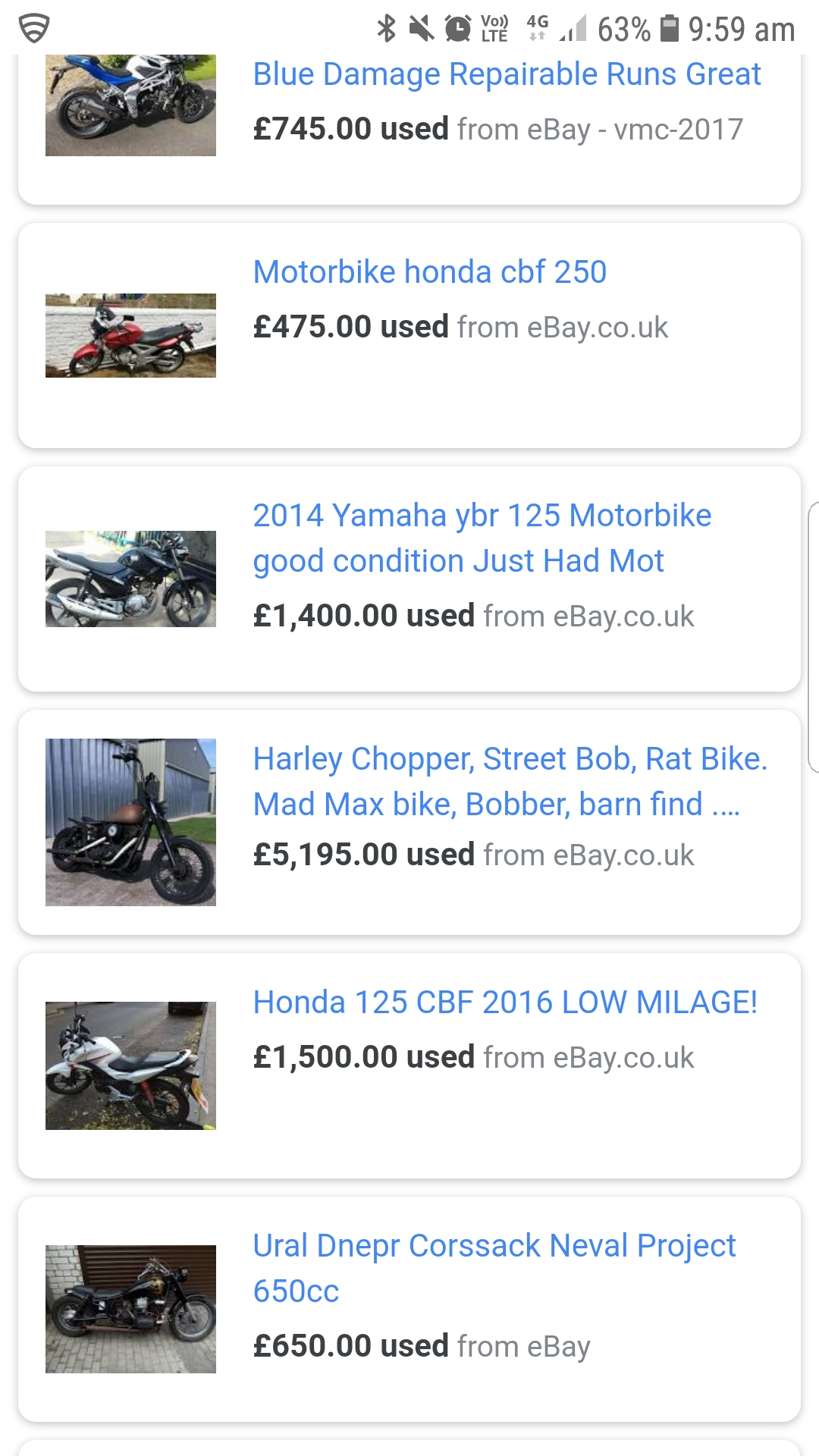 How Can Ebay Use Google Shopping To Promote Motorbikes Its Against Google Terms Google Ads Community