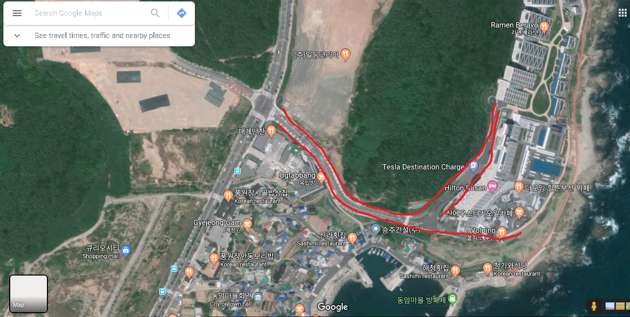 Need Assistance To Add A Street On Google Maps In South Korea