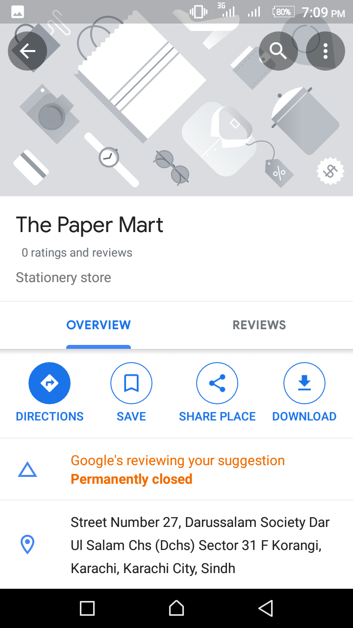 Why Google Map Edit Still Pending Status My Shop Name Changing