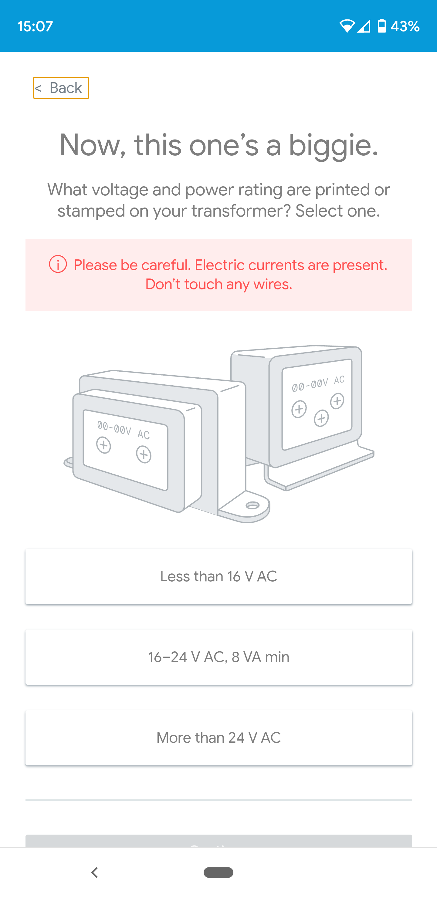 Nest Voltage Question On Transformer Google Nest Community