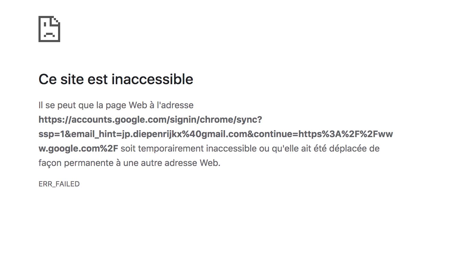 Ce Site Est Inaccessible