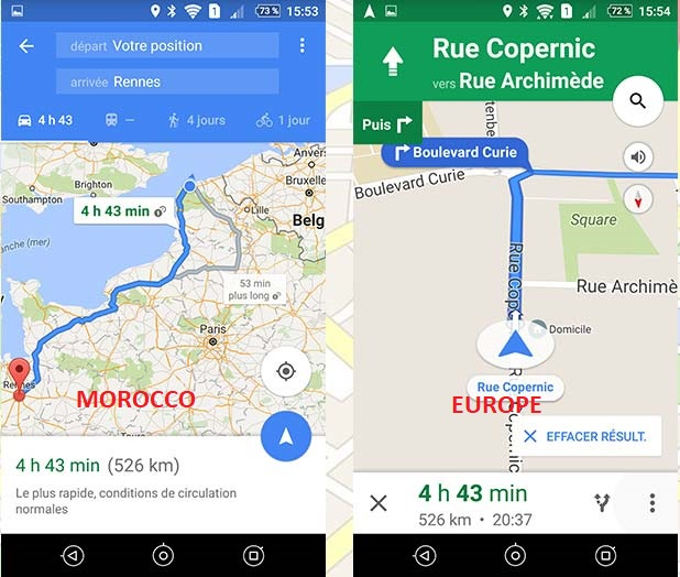 Why Google Map Work As Gps In Europe And Not In My Country