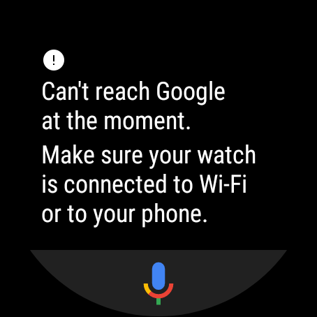 Can't reach Google - not connecting to phone - Wear OS by Google Help