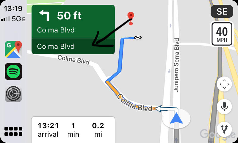 Google Map Apple Carplay Duplicate Road Information Google Maps Help