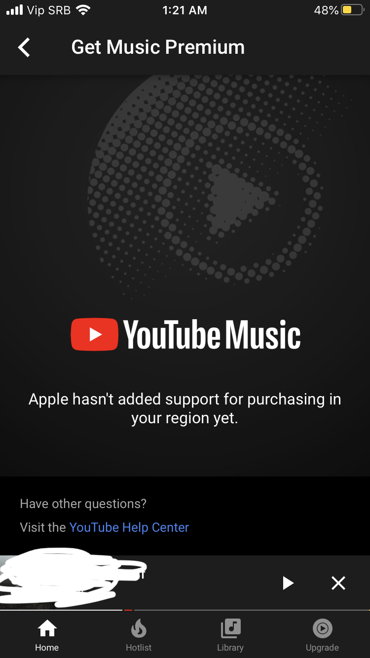 Youtube Music Premium For Apple Ios In Serbia Youtube Community