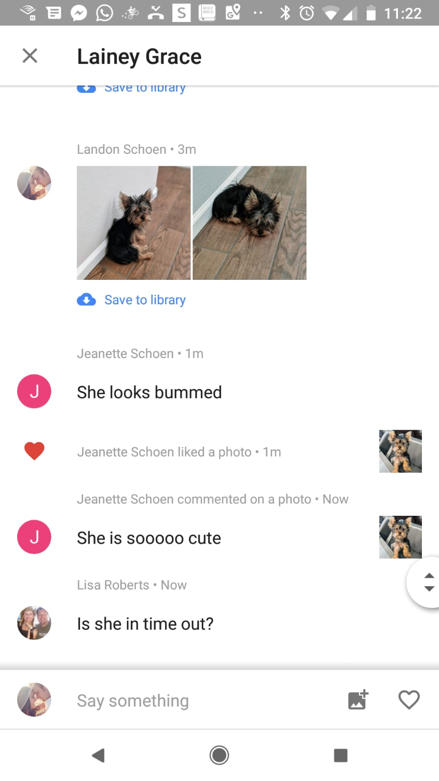 Can't see comments in my shared album - Google Photos Help