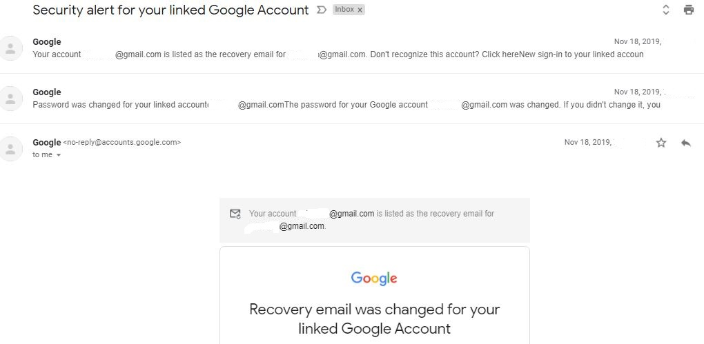 My google account was hacked, password changed and recovery email also  changed - Google Account Community