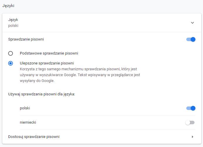 Co Daje Ulepszone Sprawdzanie Pisowni Google Chrome Pomoc