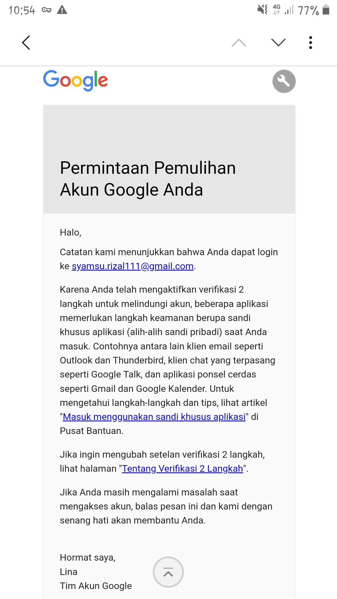 Cara Mengubah Kata Sandi Akun Google Teknoid