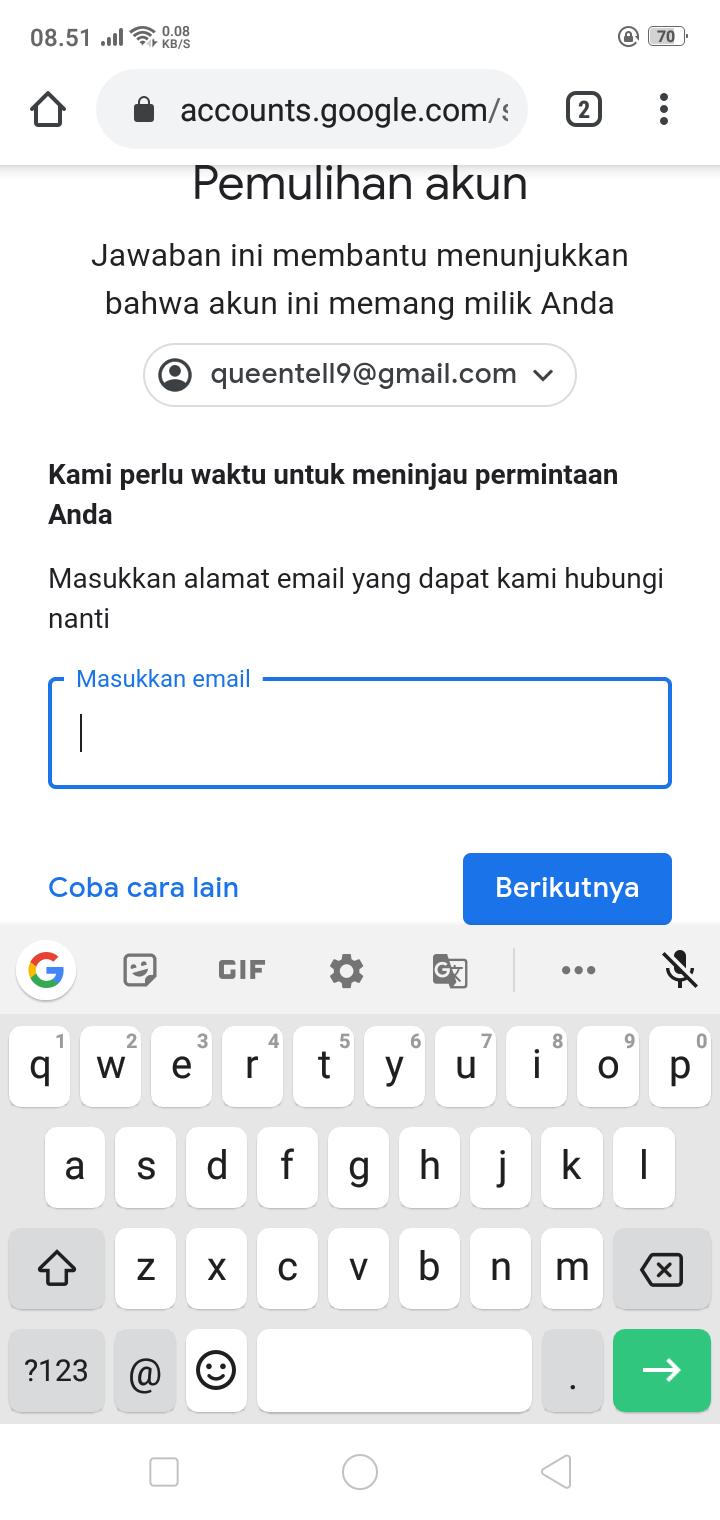 Cara Memulihkan Akun Yang Lupa Sandi Dan Tidak Punya Akses Pemulihan Seperti Email Atau No Hp Komunitas Akun Google