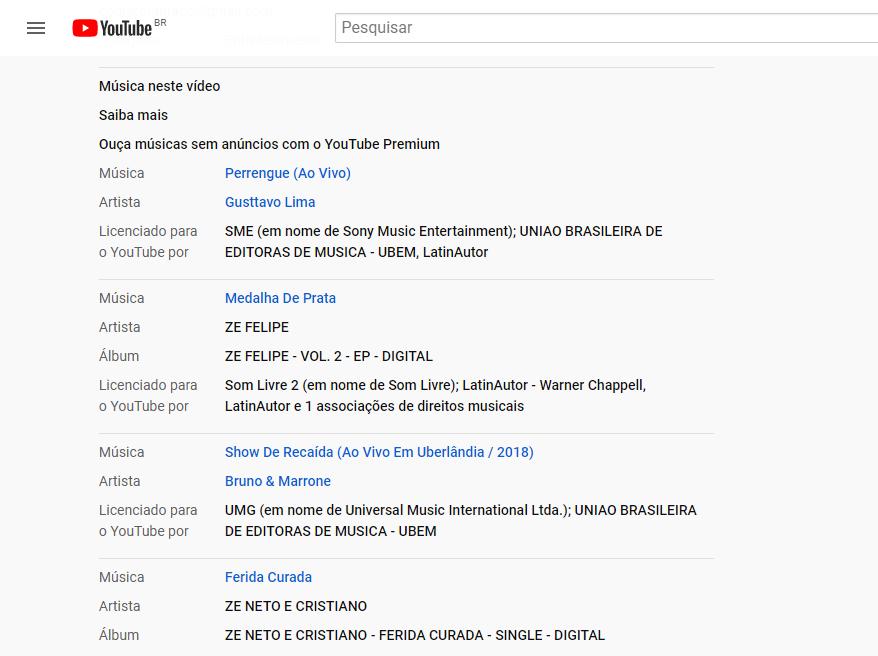 O Música Neste Vídeo Licenciado Para O Youtube Por Aparece No Vídeo Automaticamente Youtube Community
