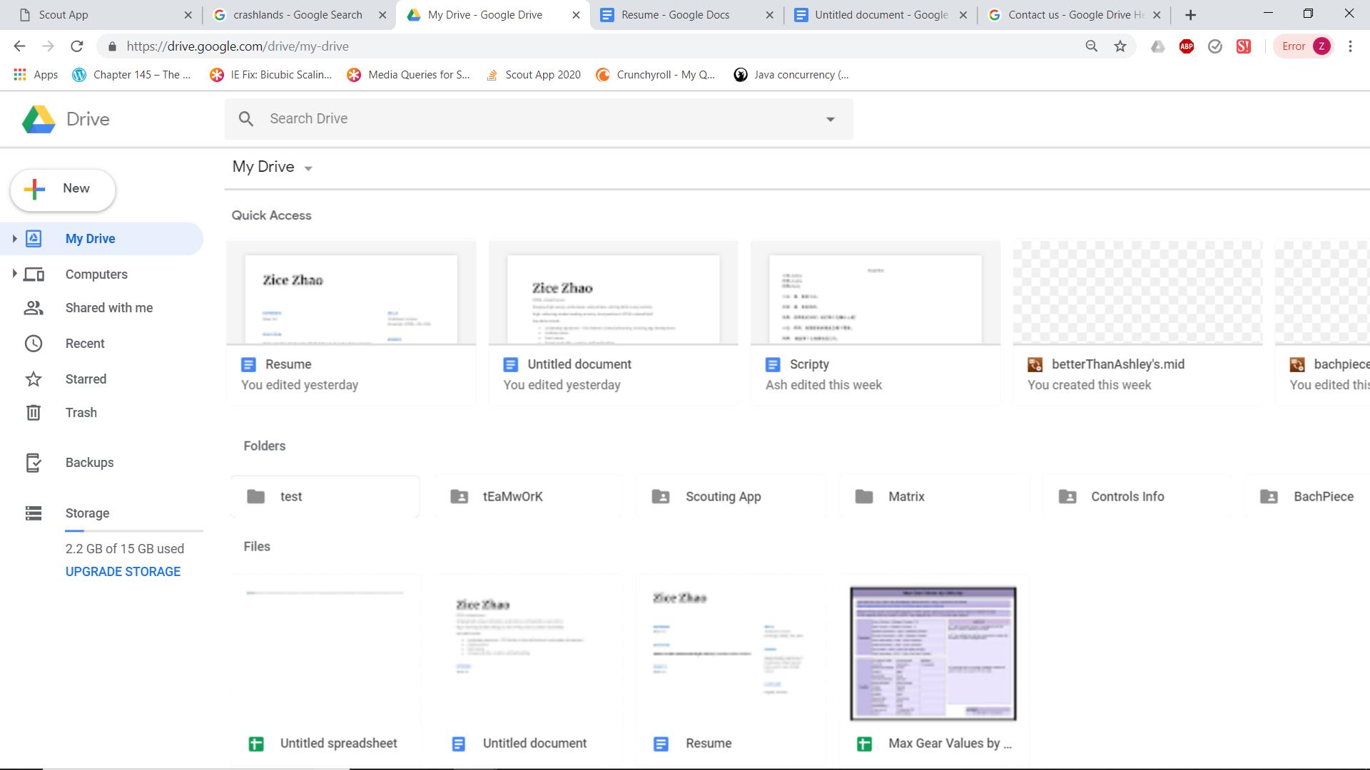 Google Drive Page Scaling - Google Chrome Help
