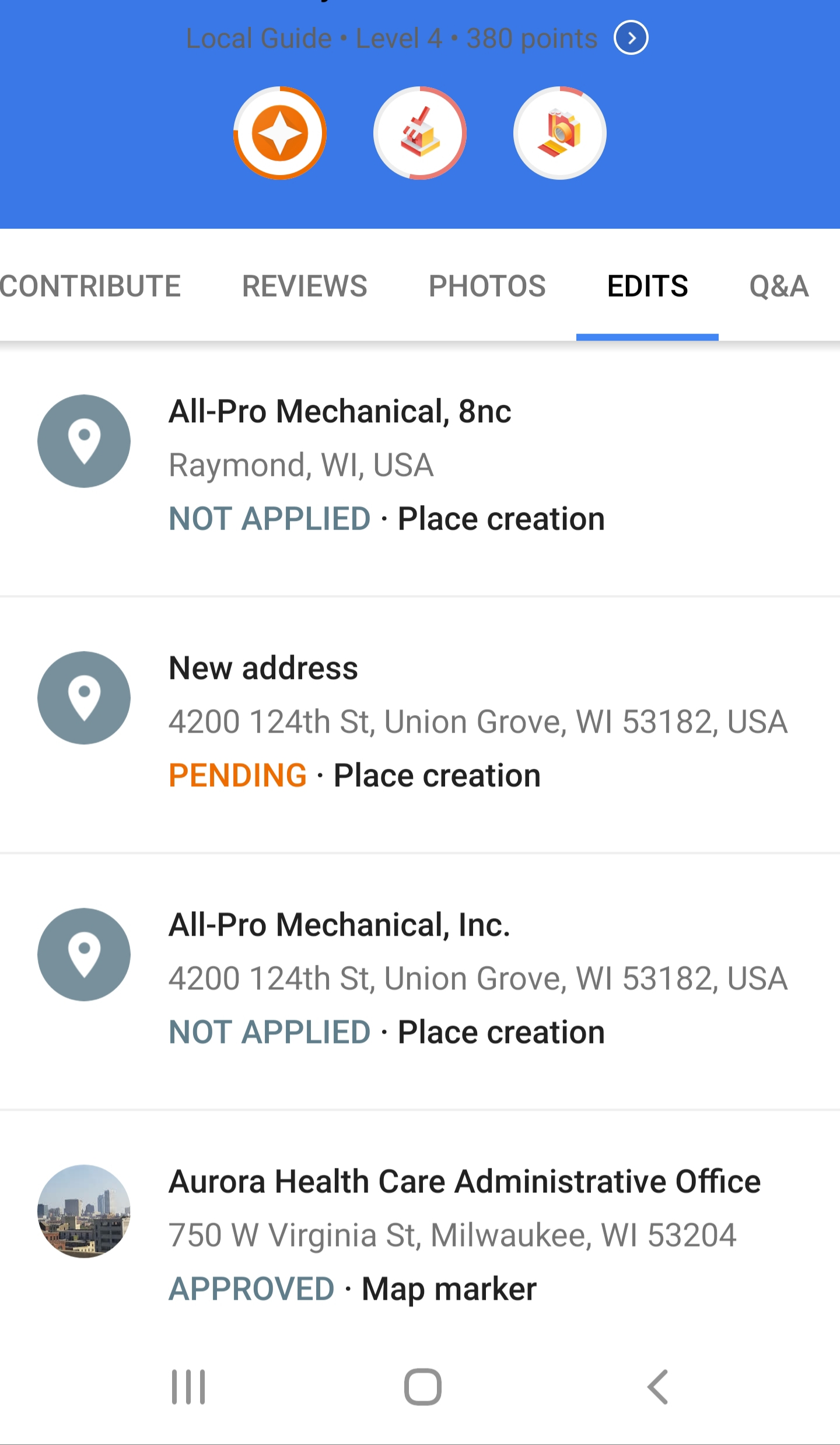 I am a Google apps subscriber, Google maps won't let me update my business  address - Google My Business Community