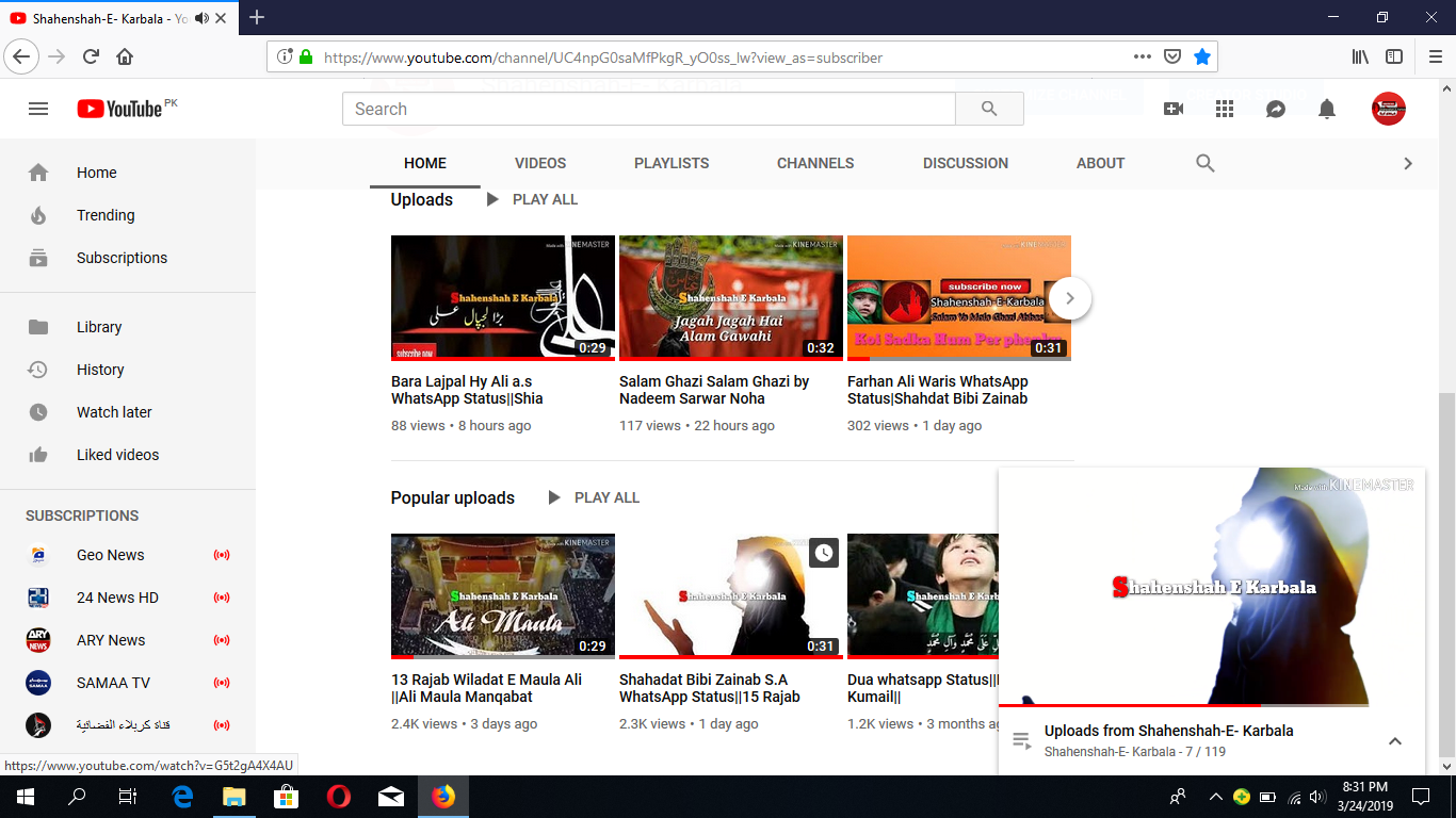my videos show less views sometimes 2 4K and and after some