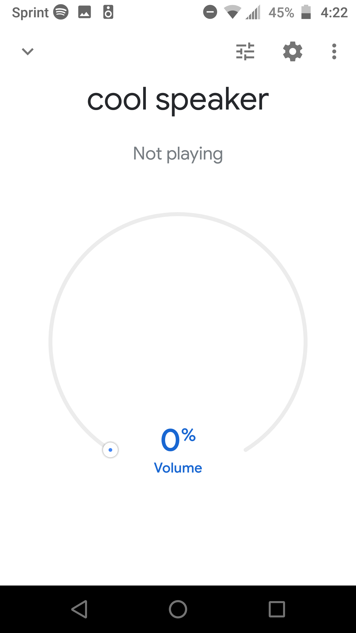 Google home mini always shows up as 'not playing' - Google
