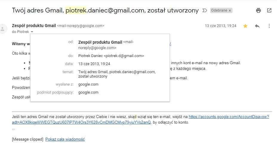 przykłady wiadomości e-mail z pierwszej randki