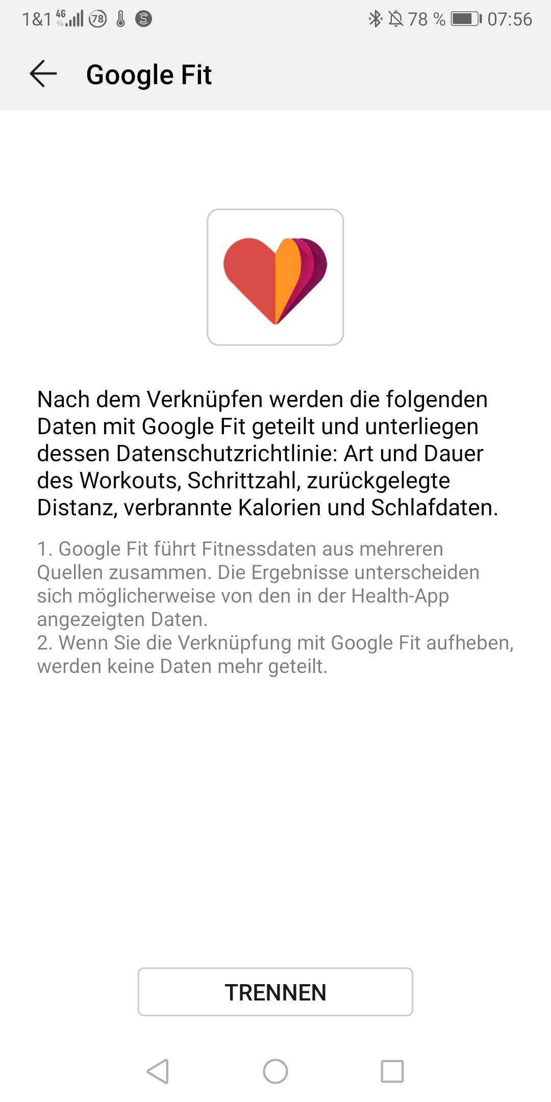 google daten anfordern