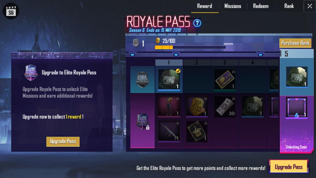PUBGM Royal Pass Reset - Google Play Help