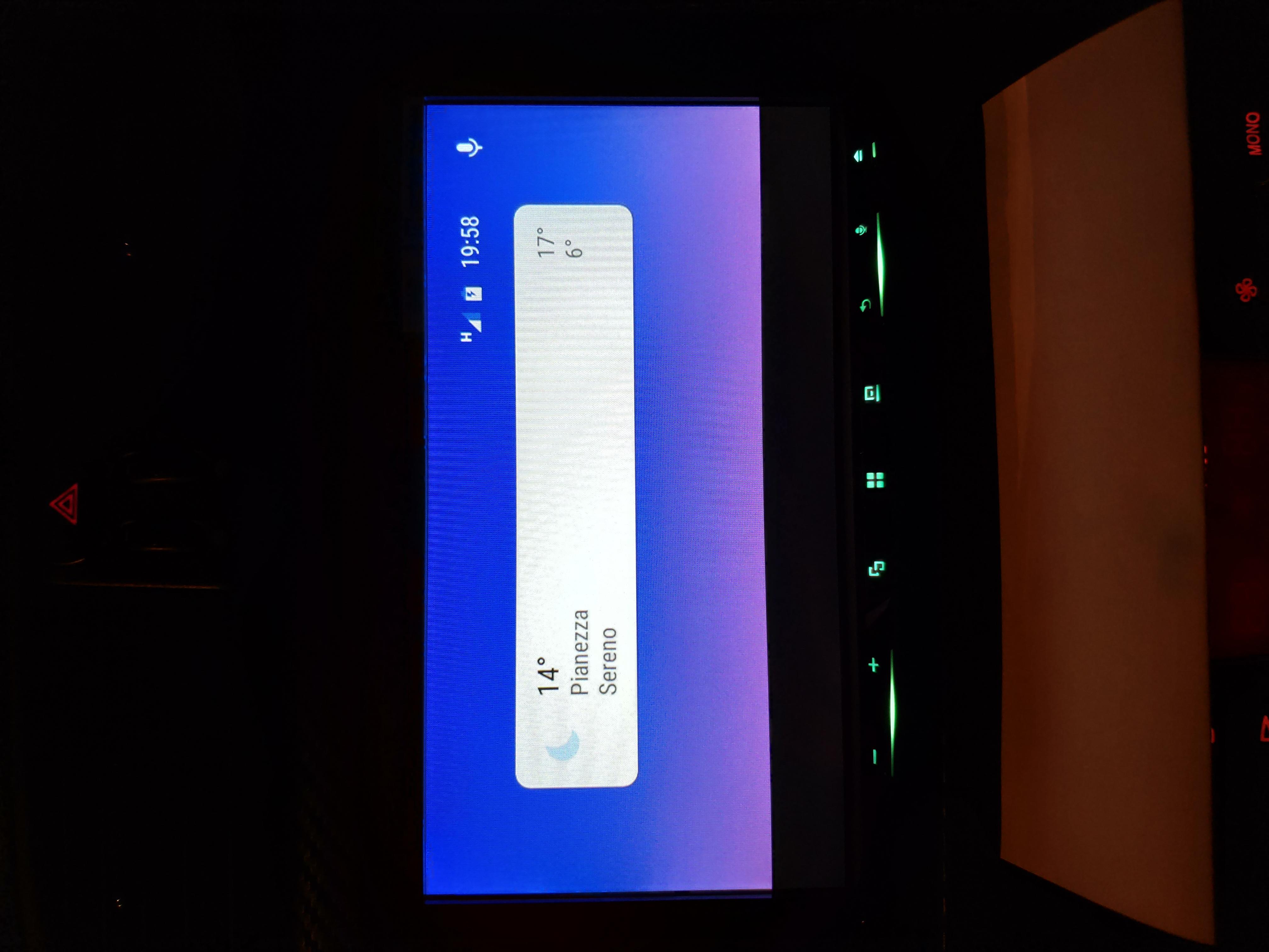 Display problem on Pioneer radio - Android Auto Help