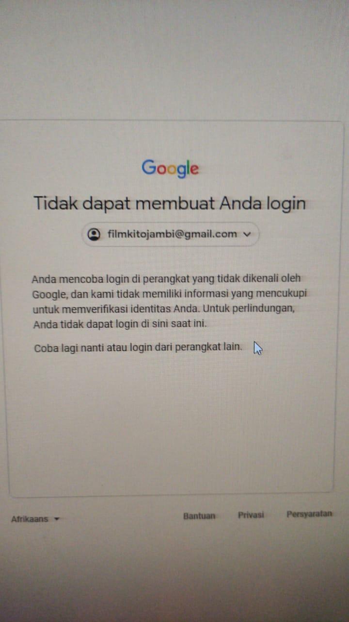 Lihat Cara Untuk Memulihkan Akun Google mudah