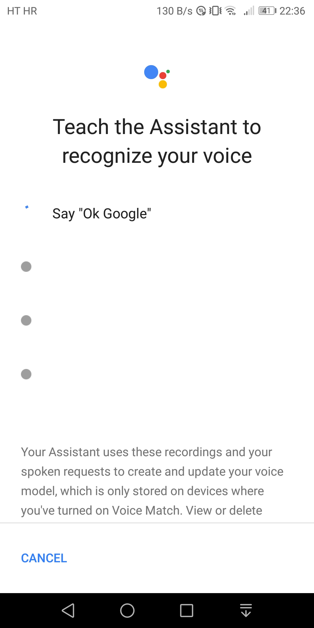 Ok google not working - Google Assistant Help